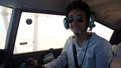 First Officer Ahmed