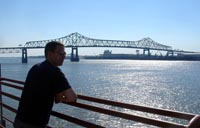 The Mississippi River in Baton Rouge